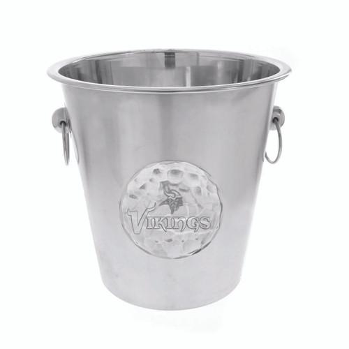 Minnesota Vikings Logo Champagne Bucket Wendell August