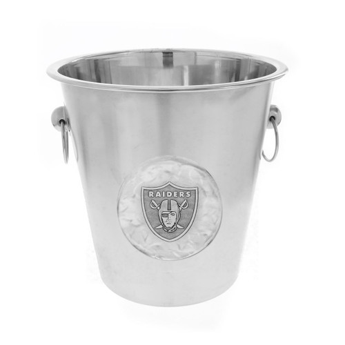 Las Vegas Raiders Logo Champagne Bucket Wendell August