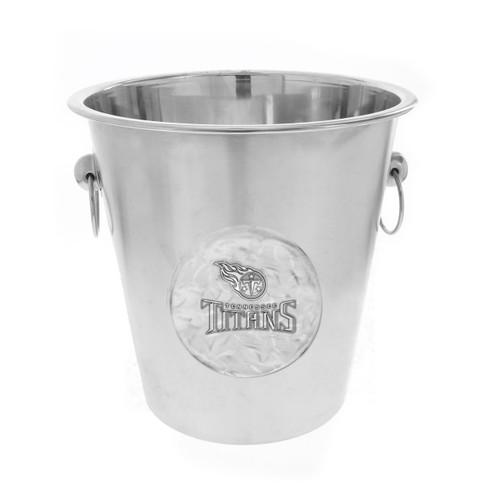 Tennessee Titans Logo Champagne Bucket Wendell August