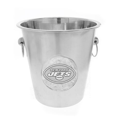 New York Jets Logo Champagne Bucket Wendell August