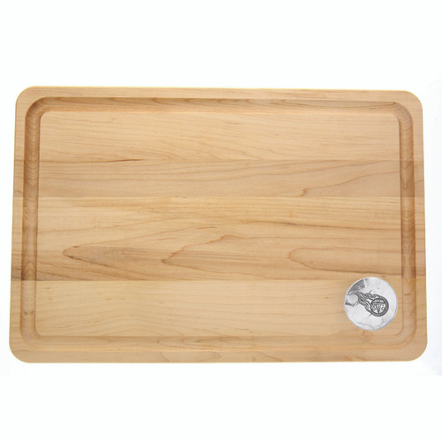 Tennessee Titans 12x18 Maple Cutting Board Wendell August