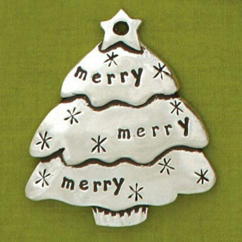 Mini Merry Tree Ornament Wendell August