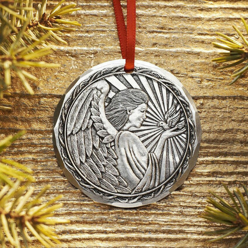 2020 Annual Ornament - Angel of Peace Aluminum Wendell August