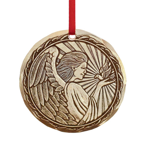 2020 Annual Ornament - Angel of Peace Bronze Wendell August