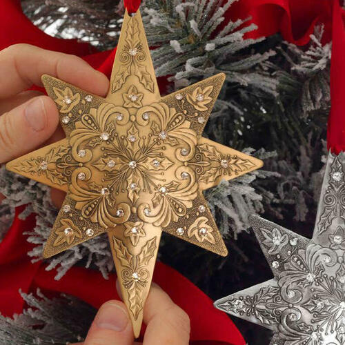Limited Edition Centennial Star Holly and Ivy Bronze Wendell August