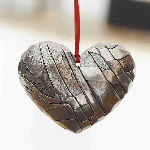 Heart of America Ornament Aluminum Wendell August