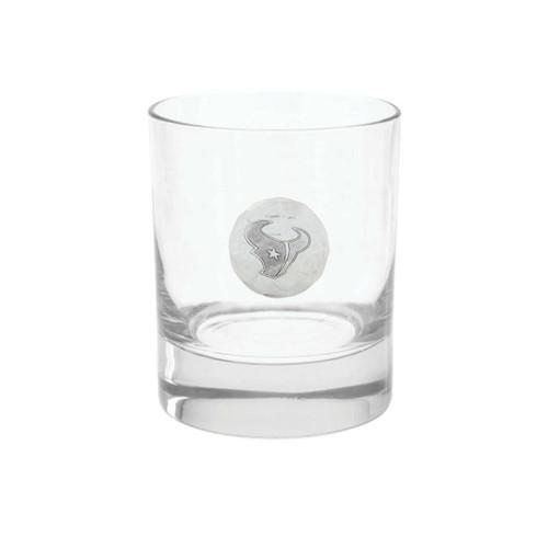 Houston Texans Rocks Glass Wendell August