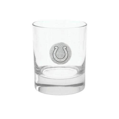 Indianapolis Colts Rocks Glass Wendell August