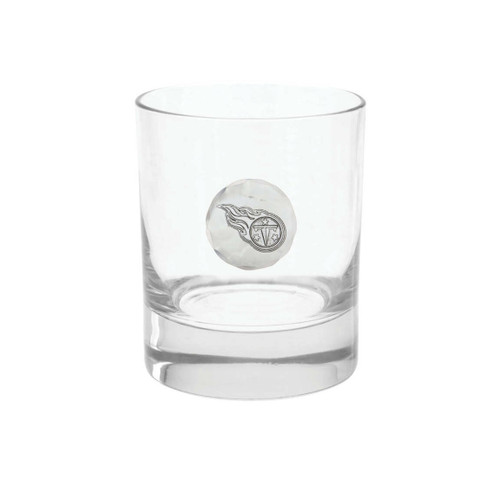 Tennessee Titans Rocks Glass Wendell August