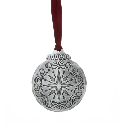 Vintage Nativity Star Ornament Wendell August
