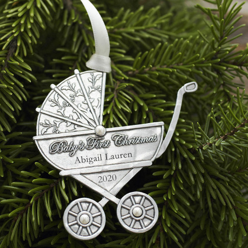 Baby Carriage Ornament Wendell August
