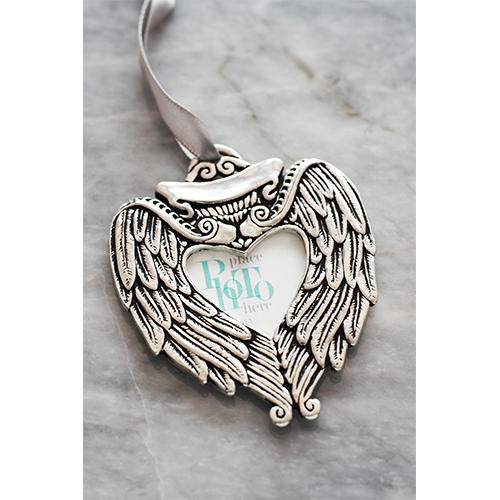 Angel Wing Picture Frame Ornament Wendell August