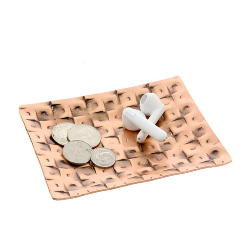 Cubist Accessory Tray Copper Wendell August