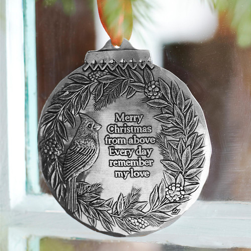 Cardinal Remembrance Ornament Wendell August