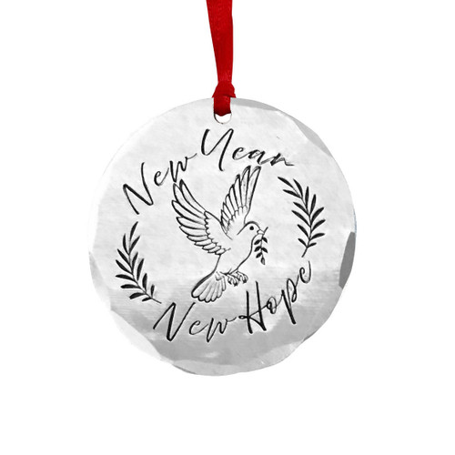 New Year New Hope Ornament Wendell August