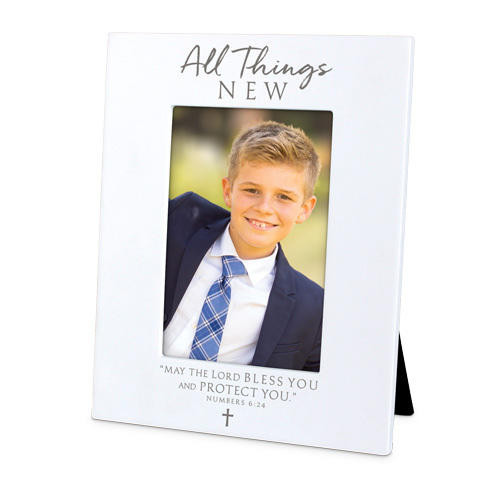 All Things New Photo Frame Wendell August