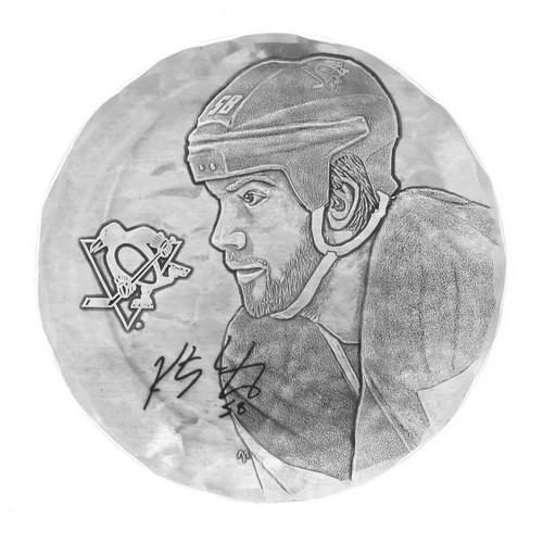 Pittsburgh Penguins Kris Letang Coaster Wendell August