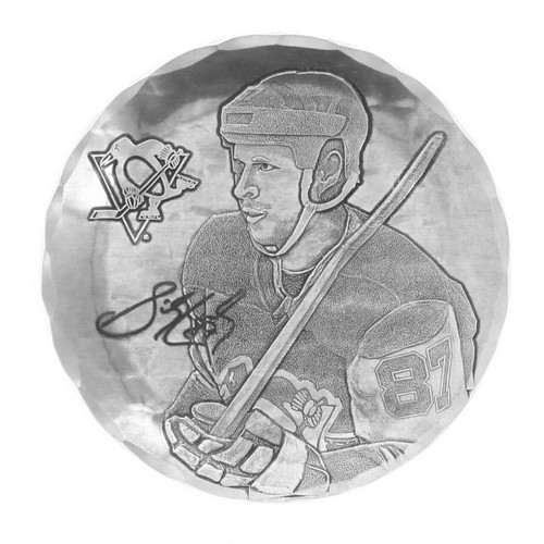Pittsburgh Penguins Sidney Crosby Coaster Wendell August