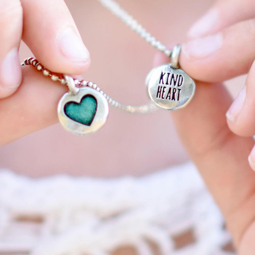 Kind Heart Necklace Silver Wendell August