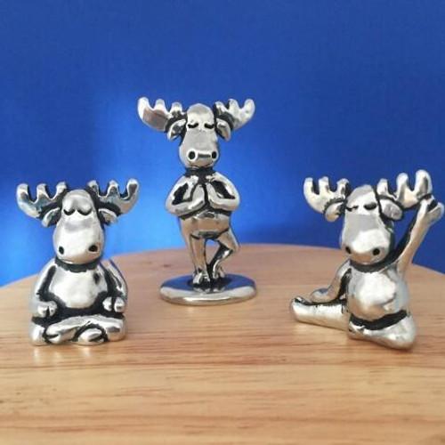 Yoga Moose Miniature Set Wendell August