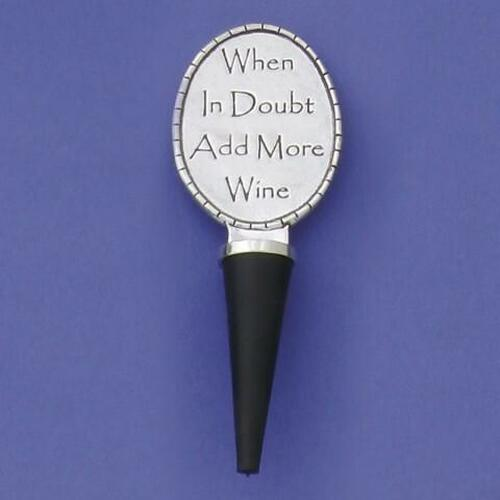 Add More Wine Bottle Stopper Wendell August