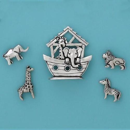 Noahs Ark Miniature Set Wendell August