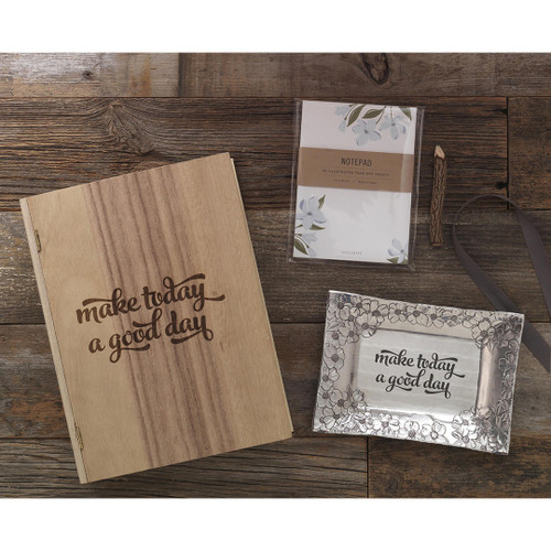 Make Today a Good Day Dogwood Gift Set Wendell August