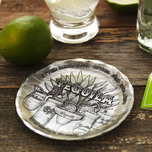 Anatomy of Tequila Coaster Wendell August