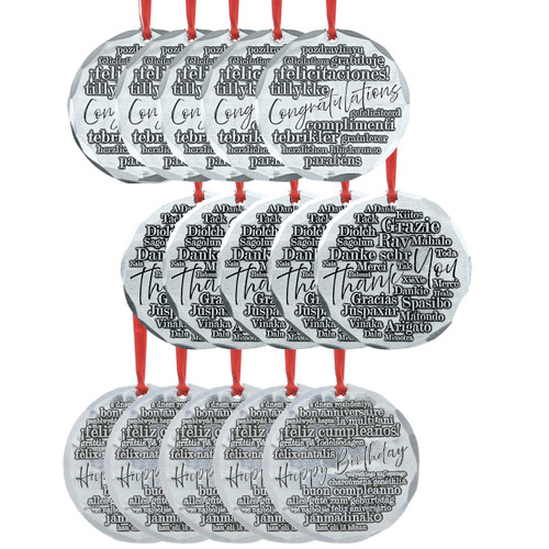 Gift Giving Ornament Bundle 15 Pack Wendell August