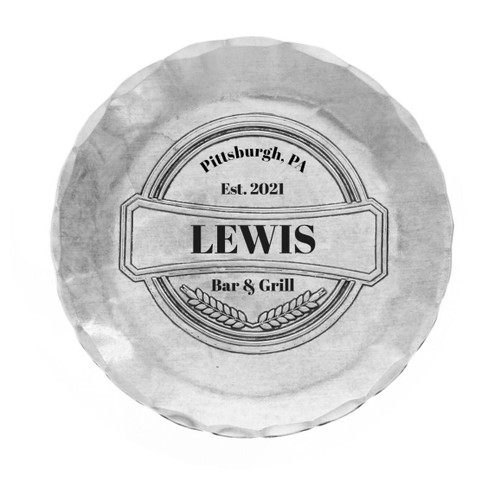 Personalized Pub Coaster Wendell August