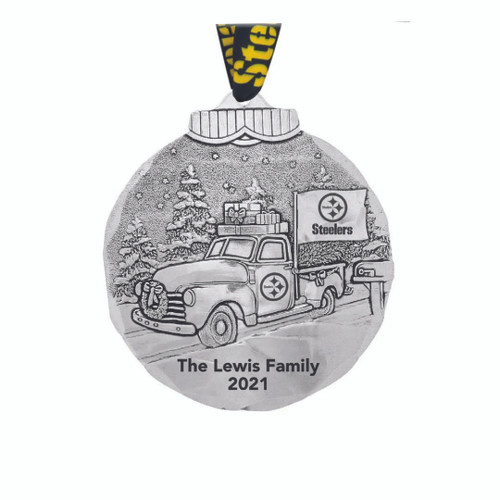 Pittsburgh Steelers Tailgating Ornament Wendell August