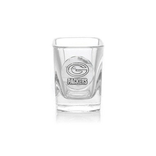 Green Bay Packers Shot Glass Wendell August