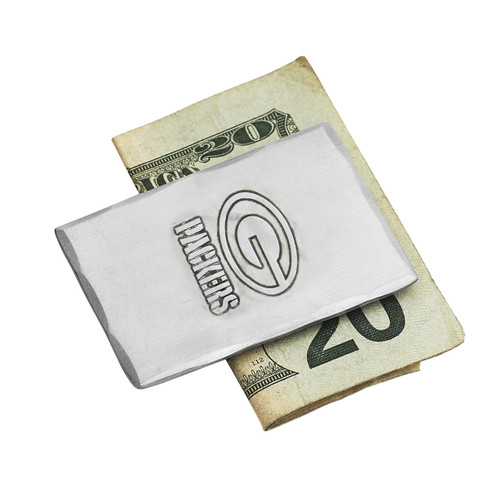 Green Bay Packers Money Clip Wendell August