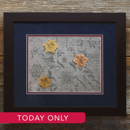 Limited Edition Mixed Metal Wintersong Framed (Aluminum)