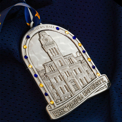 2021 Limited Edition West Virginia University Alumni Ornament Wendell August