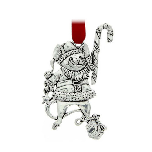 Christmas Mouse Ornament Wendell August