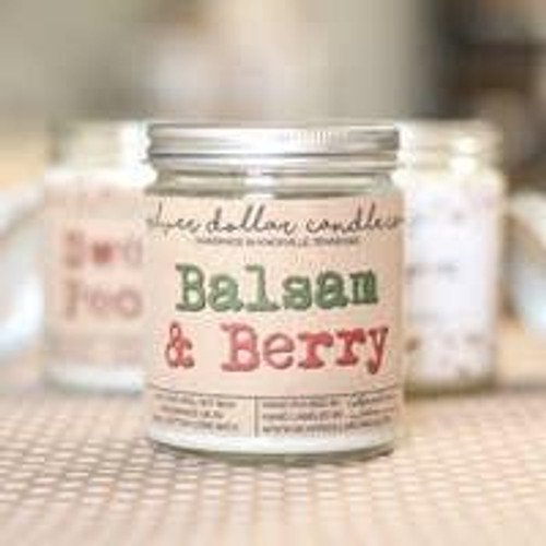 Balsam and Berry Soy Candle Wendell August