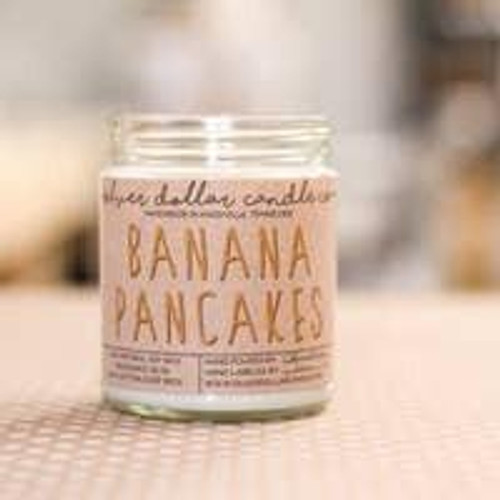 Banana Pancakes Soy Candle Wendell August