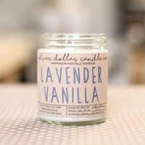 Lavendar Vanilla Soy Candle Wendell August