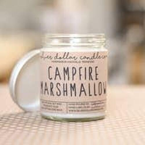 Campfire Marshmallow Soy Candle Wendell August