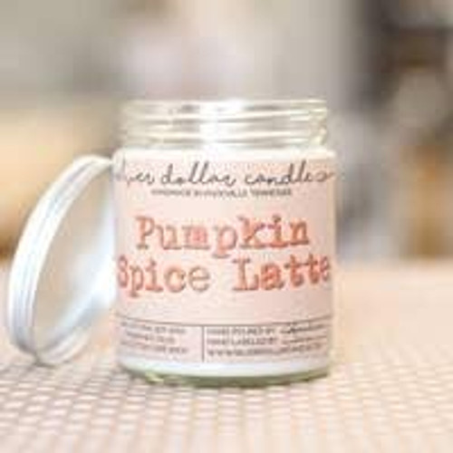 Pumpkin Spice Latte Soy Candle Wendell August
