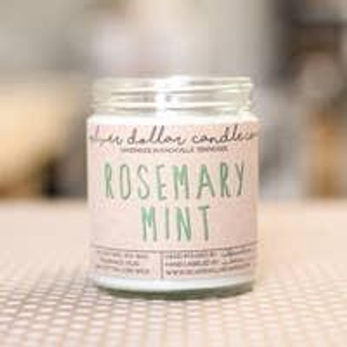 Rosemary Mint Soy Candle Wendell August