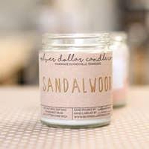 Sandalwood Soy Candle Wendell August