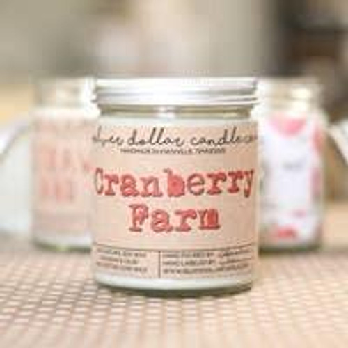 Cranberry Farm Soy Candle Wendell August