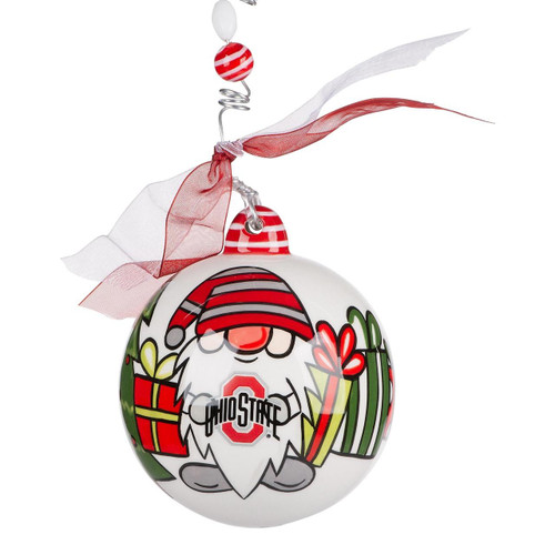 Ohio State Gnome Ornament Wendell August