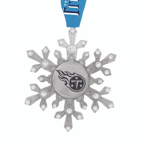 Tennessee Titans Snowflake Collectible Ornament Wendell August