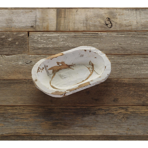 Petite Wood Bowl White Wendell August