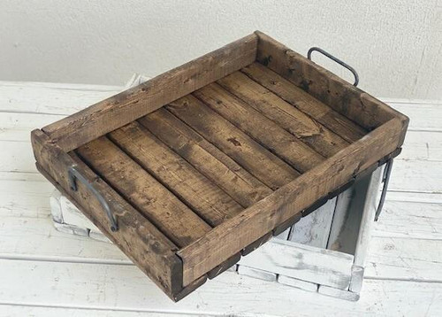 Large Wood Tray Walnut Wendell August