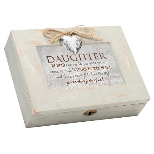 Daughter Musical Keepsake Box Wendell August