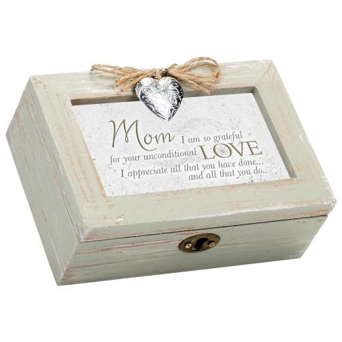 Mom I am So Grateful for your Love Musical Keepsake Box Wendell August